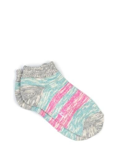 Mavi Çorap Pembe